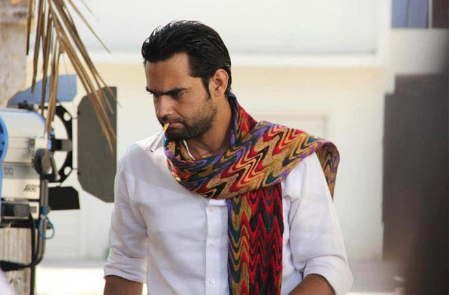 Hassan Niazi in 'Taan' (Photo from Hassan' official Facebook page)