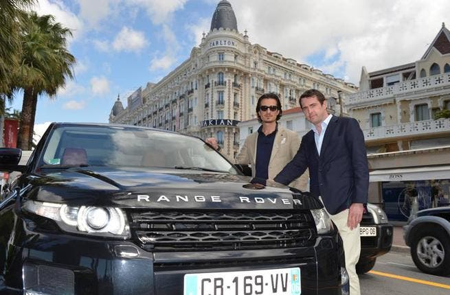 Range Rover Evoque brand ambassador Ali F. Mostafa announced major new project at Cannes Film Festival.
