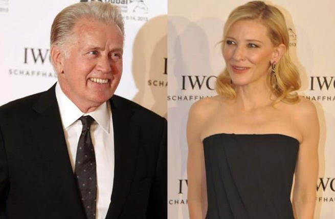 American actors Martin Sheen and Cate Blanchett make their celebrity appearance at DIFF