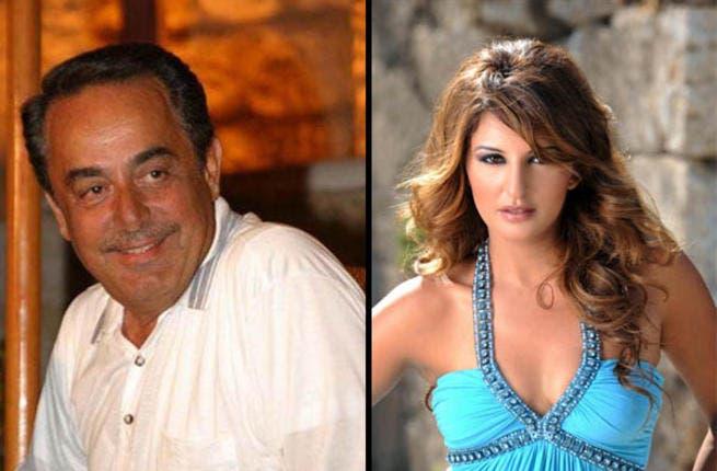 Melhem Barakat surprised on his birthday by Shatha Hassoun