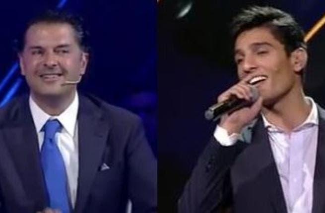 Assaf's biggest fan: Ragheb Alama. (Image: Albawaba)