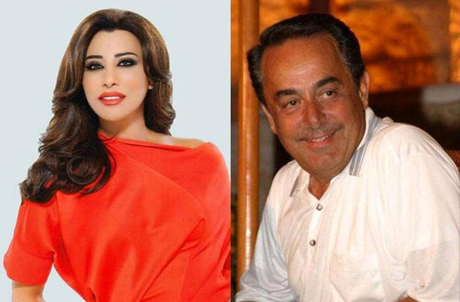 Najwa Karam battling it out with Melhem Barakat