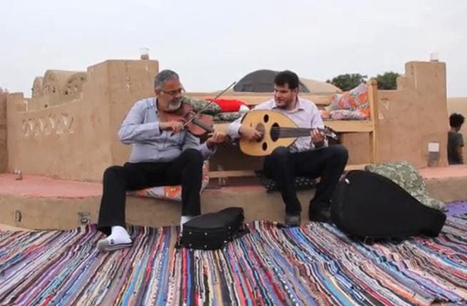 Screenshot from the Aswan: New Album by the Nile Project