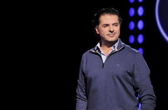 Ragheb Alama shoots for the 'Moon and Stars' (Image: Facebook)