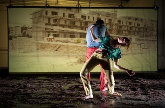 Just cause you're handicap doesn't mean you can't learn to dance at the Ramallah Contemporary Dance festival