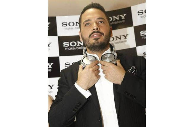Ramy Ayach pumps up the volume with Sony partnership