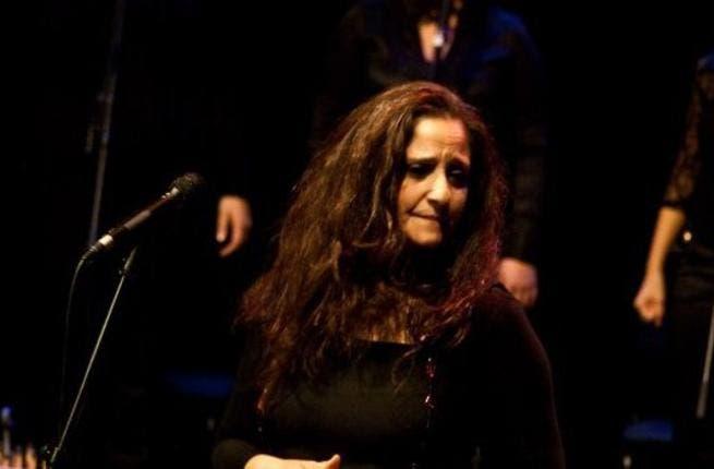 Reem Talhami sings her way through Gaza (Photo courtesy of Reem's facebook)