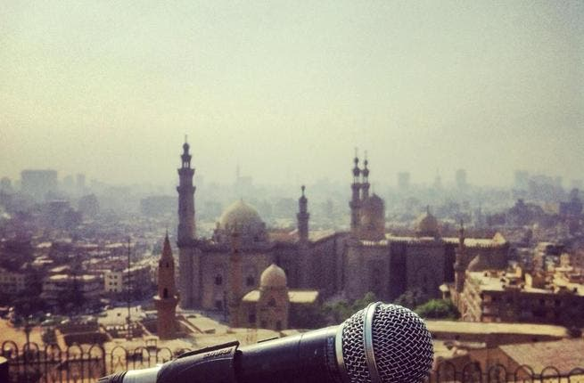Mic Check for Salalem at the Citadel (Photo courtesy of band's Facebook page)