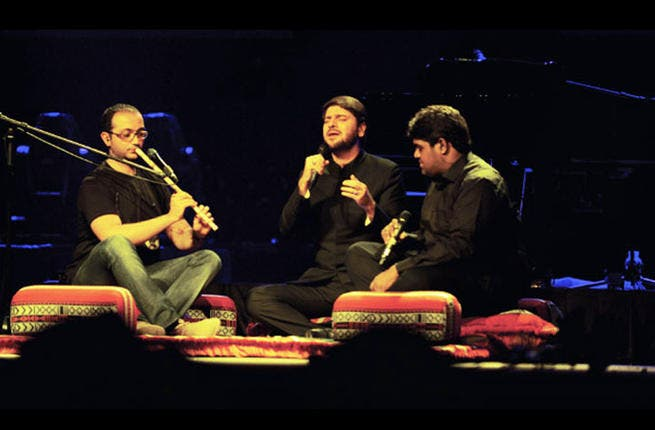 Sami Yusuf sings his heart out (Image: Courtesy of Times of Oman)