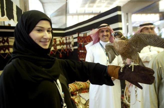 Saudi women in action