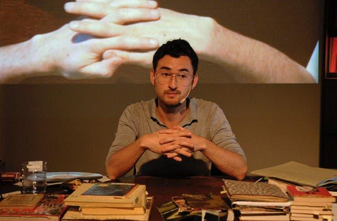 Simon Fujiwara displays awkward, mysterious art