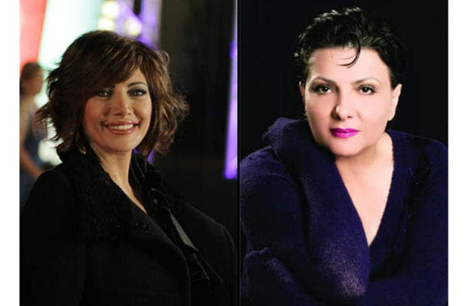 Syrian actress Sulafa Mimar and Jordanian actress Abeer Issa star in