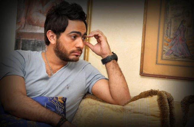 Tamer Hosny distressed that haters are using his name to destroy computers