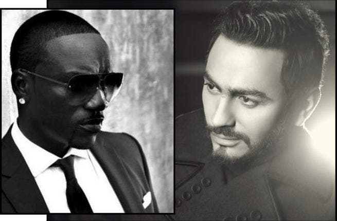 Akon and Tamer Hosny Duet