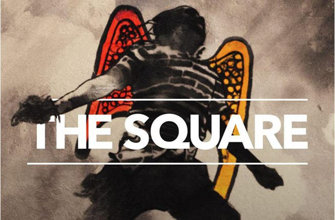 THE SQUARE movie poster (image:Facebook)
