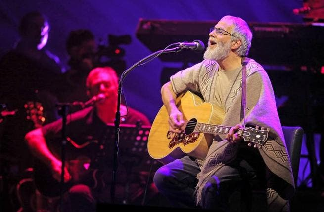 Yusuf Islam performing in Santiago recently (Image: Facebook)