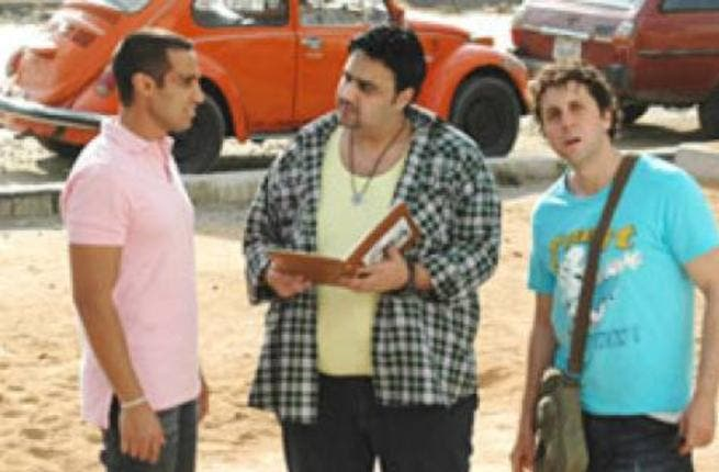 Comedy trio Ahmed Fahmy, Hisham Maged and Shiko have started shooting scenes for their latest movie.
