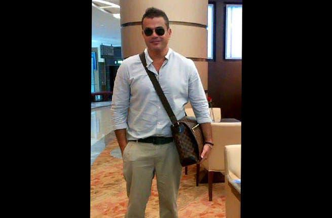 Amr Diab has returned home! (Image: Facebook)