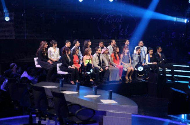 The remaining 19 Arab Idol contestants sit on pins and needles