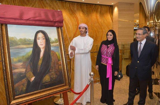 Arab Mona Lisa unveiled! (Image: Facebook)