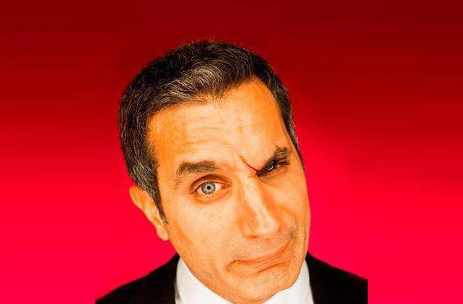 Bassem Youssef questions the crackdown on his show (Image: Facebook)