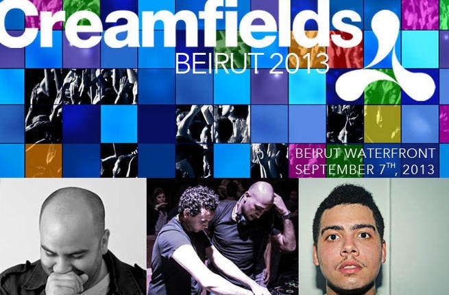 Creamfields is coming to town!