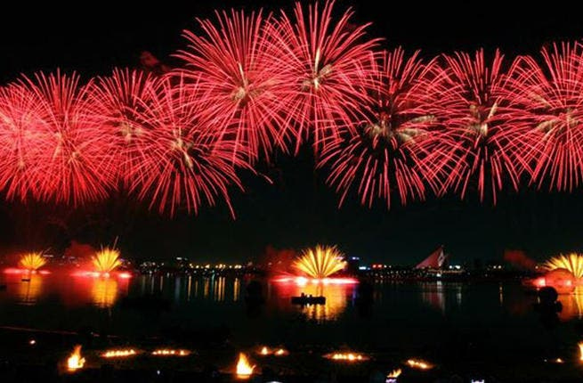 Record-breaking fireworks are still set to take over the Dubai sky on New Year's Eve, but several concerts have been cancelled. (Image: Facebook)