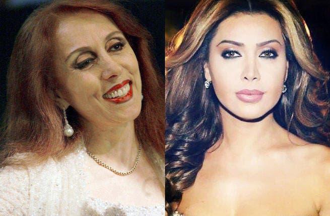 Two Lebanese musical legends: Fairuz and Nawal Al Zoghbi