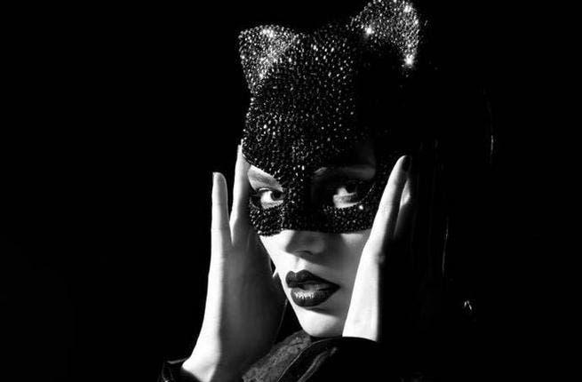 Haifa looks purrfect as cat woman