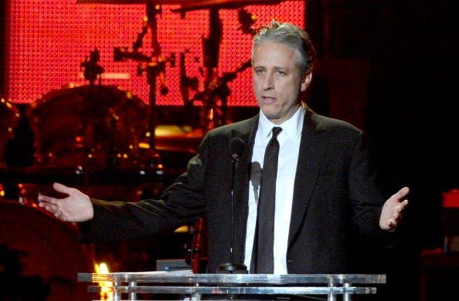 Jon Stewart is the US political satirist (image used for illustrative purposes)