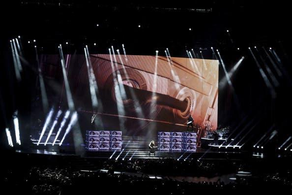 Madonna launches MDNA at Tel Aviv