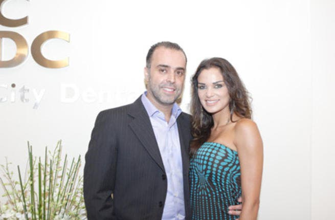 Maysam Nahas gets hitched to her dream dentist