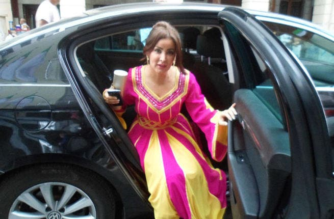 Marwa Mohammad lookin' fab as she heads to her VIP party (Image courtesy of Hia magazine)
