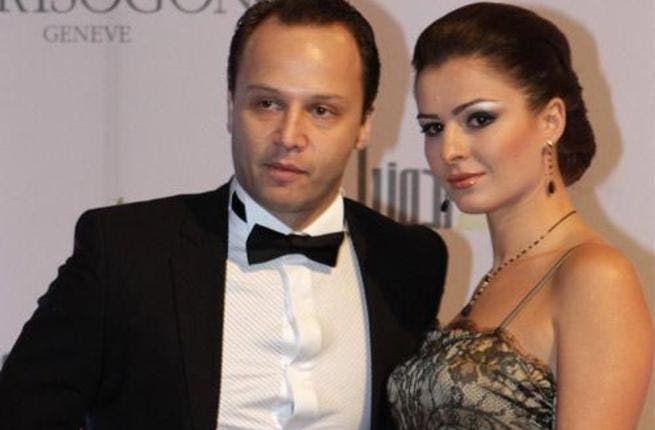Happy couple Maxim Khalil and Cyrine Abdelnour