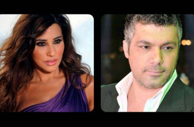 Najwa Karam and Fares Karam
