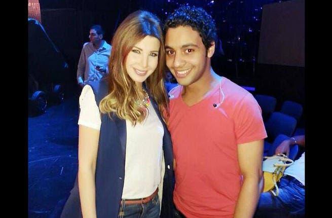 Nancy Ajram lovin' on Arab Idol runner-up, Ahmad Jamal