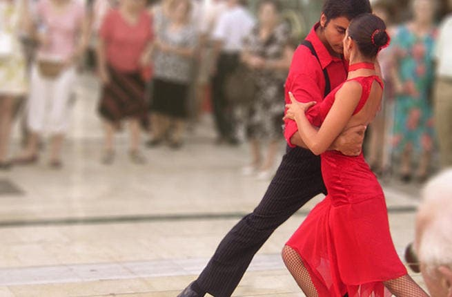 Tango is a dance of passion.