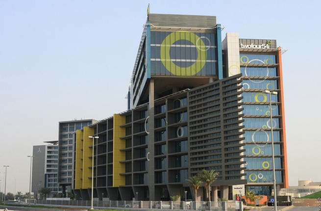 Twofour54 studios in Abu Dhabi