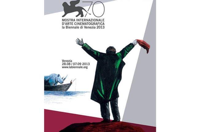 Venice Film Festival 2013 official poster (Image: Facebook)