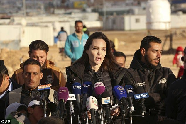 Angelina Jolie says she is working with North Atlantic Treaty Organisation to combat sexual violence