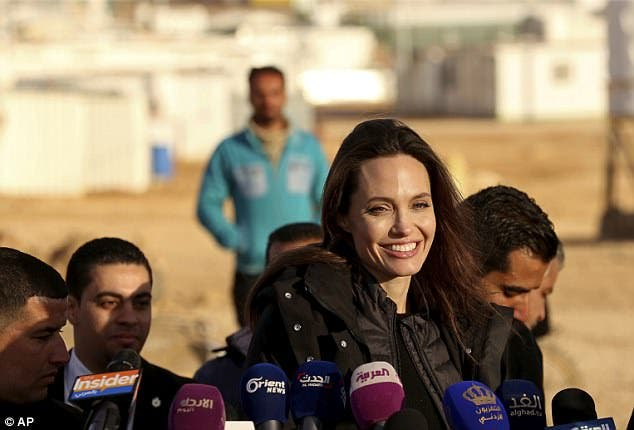 Angelina Jolie Urges NATO To Focus On Violence Against Women
