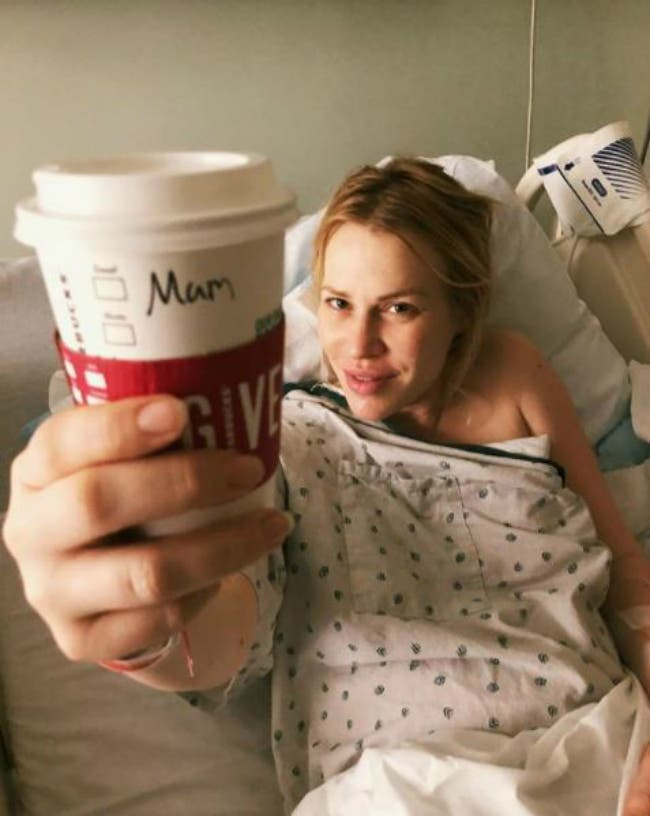Natasha Bedingfield has given birth to her first child