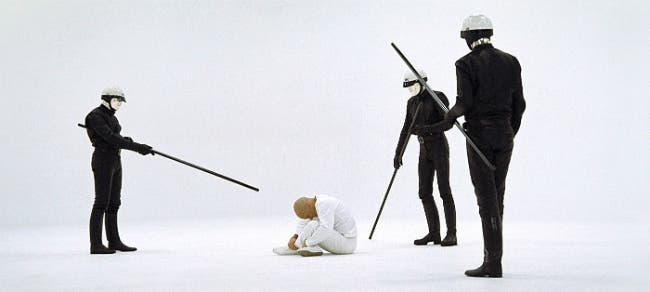A still from THX 1138. (Warner Bros. Entertainment Inc.)