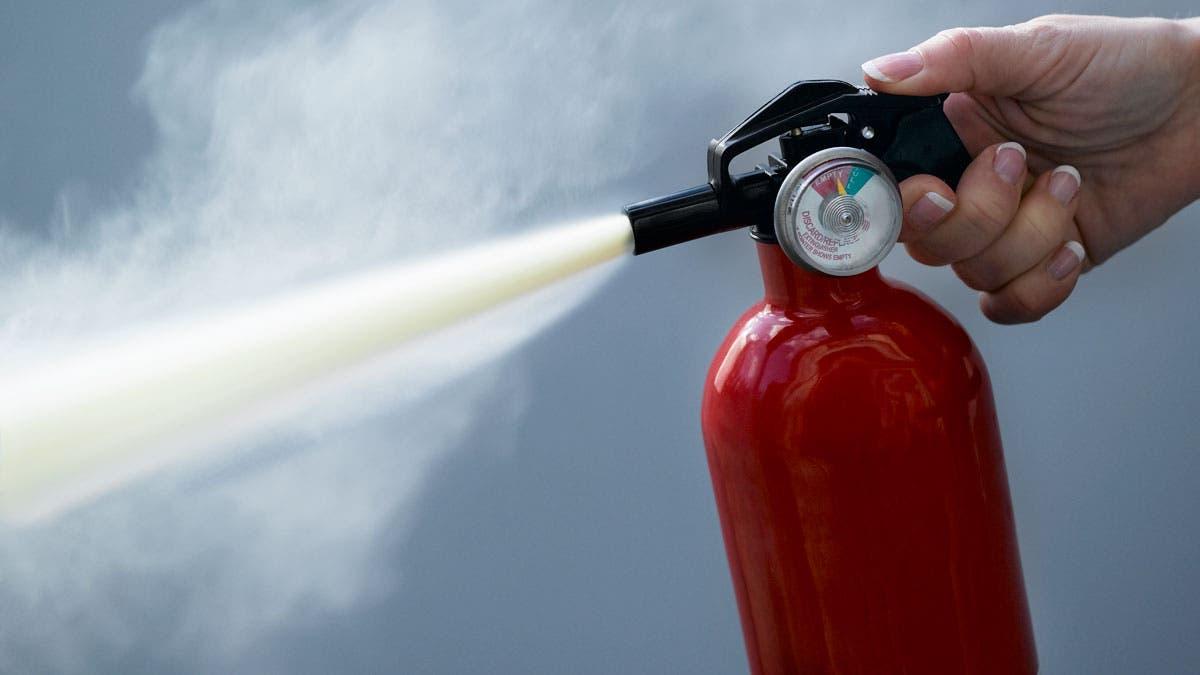 Необходимые во время возгорания порошковые огнетушители