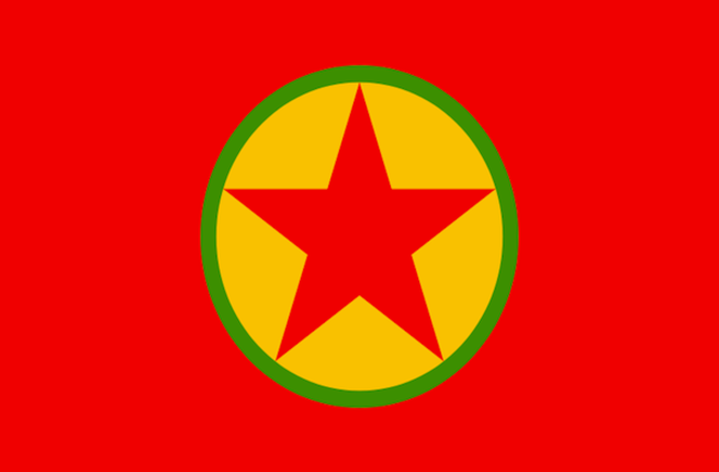 PKK flag (Source: Wikimedia Commons)