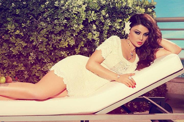 Most Beautiful Lebanese Woman Haifa Wehbe