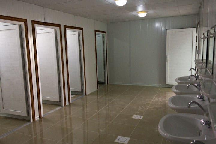 Communal toilet facilities