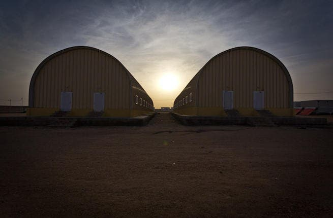 Accommodation blocks for unaccompanied children