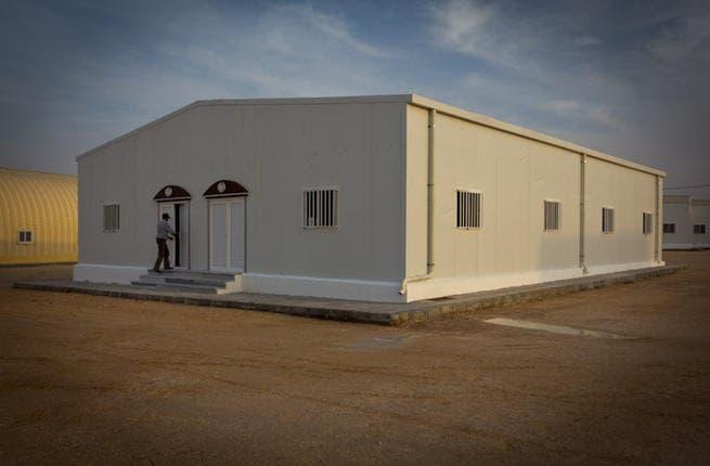 Camp Halabat mosque for 500 people