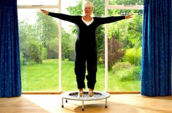 Прыгай на здоровье! :: Батут плоскостопие